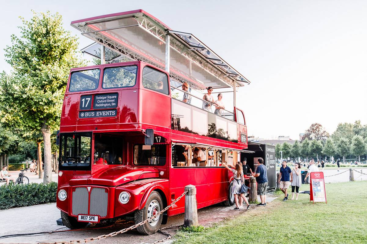 Bus Events - individuelle Events im Doppeldecker